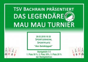 Mau-Mau-Turnier @ Sportlerheim Am Geisküppel | Künzell | Hessen | Deutschland